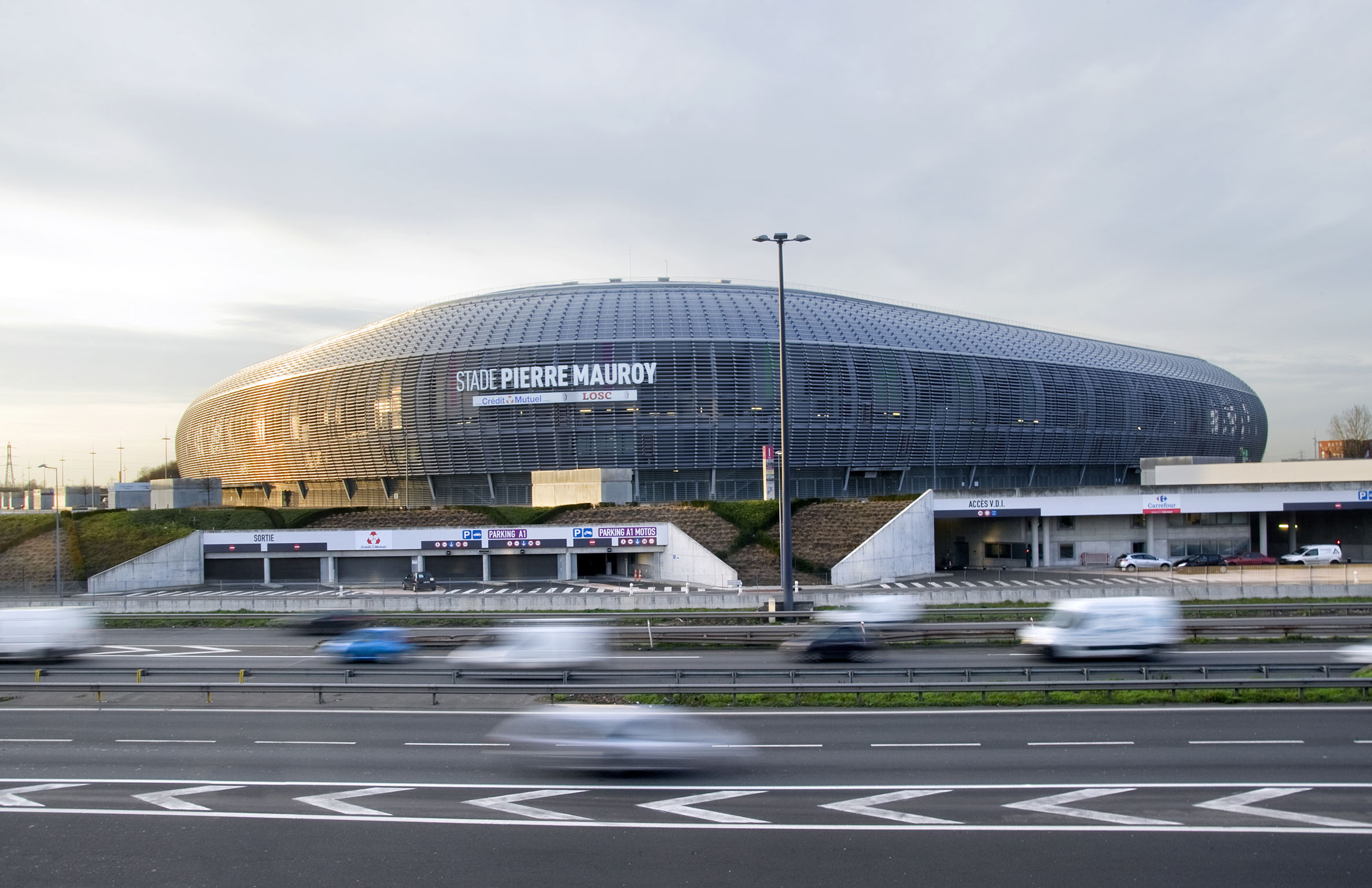 Lille (59) : le Stade Pierre-Mauroy | Lille (59): the Stade Pierre-Mauroy [AT]