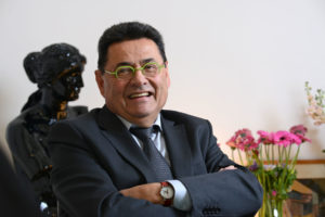 Villeurbanne (69): Le maire Jean Paul Bret   Villeurbanne (69): Mayor Jean Paul Bret [AT]
