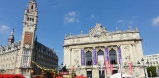 """Lille, avec sa grande braderie, est souvent présentée comme le lieu du « vivre ensemble ». Les auteurs de """"Sociologie de Lille"""" mettent à mal cette image en mettant en évidence l'intense « ségrégation socio-spatiale » qui marque l'agglomération. Photo: Creative Commons/Jérémy-Günther-Heinz Jähnick"""