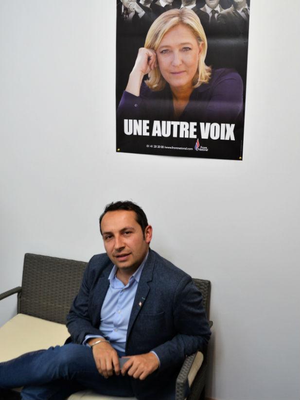 Sébastien Chenu, une ascension qui doit tout à la patronne du FN