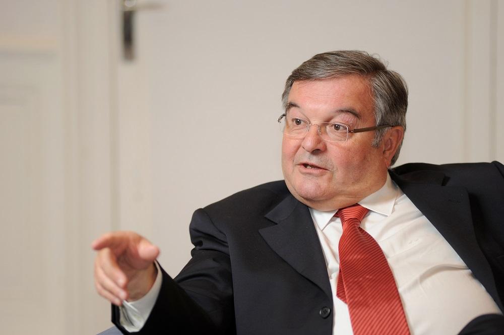 Lyon (69) : Michel Mercier,