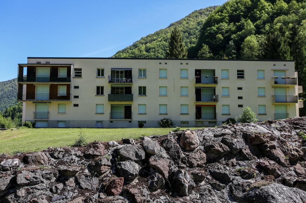 Logements construits à l'époque pour les employés de la mine de tungstène de Salau. © Frédéric Scheiber