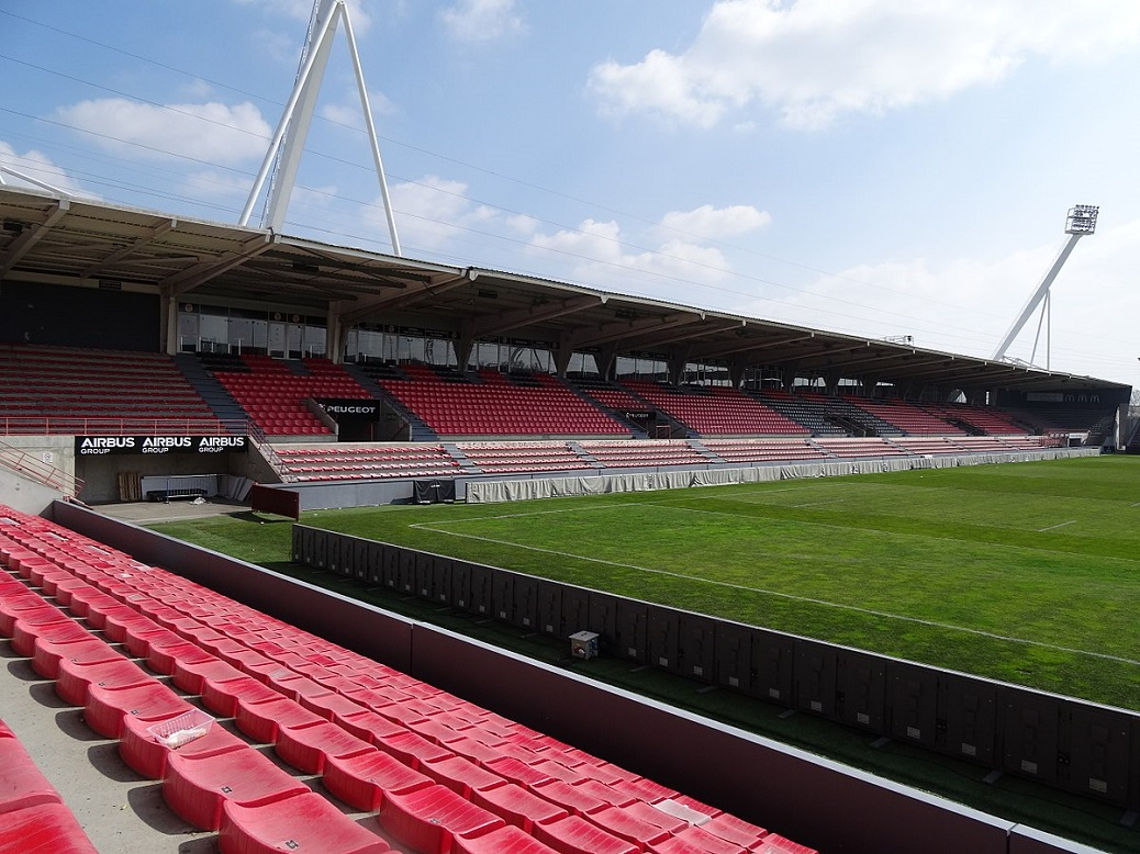 Le stade Ernest Wallon © Wikimedia Commons