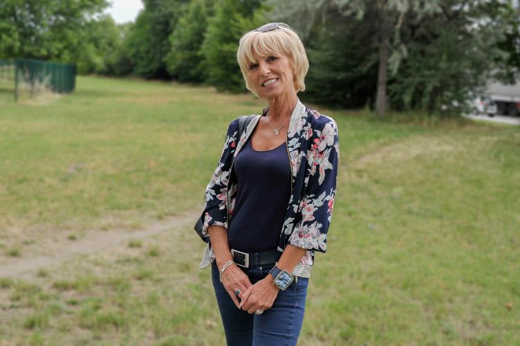 Michelle Palandre, 59 ans, conseillère clientèle en assurance et conseillère municipale d'opposition (LR) de Givors - Photo Rolland QUADRINI / KR Images Presse