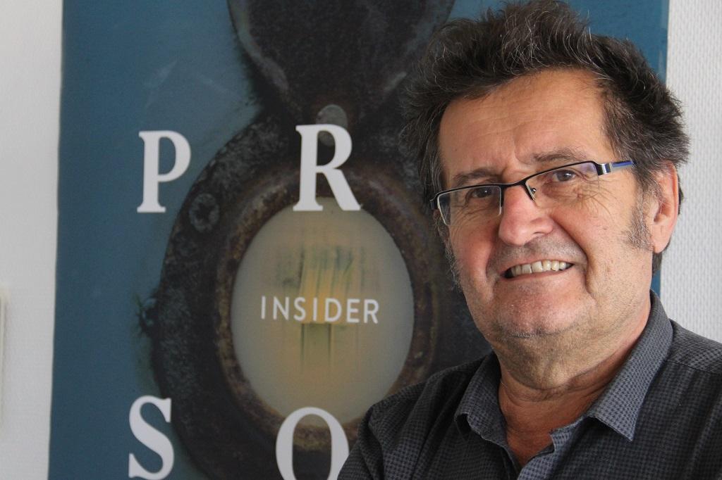 Bernard Bolze, fondateur de Prison Insiders. (photo : N.Barriquand/Mediacités)