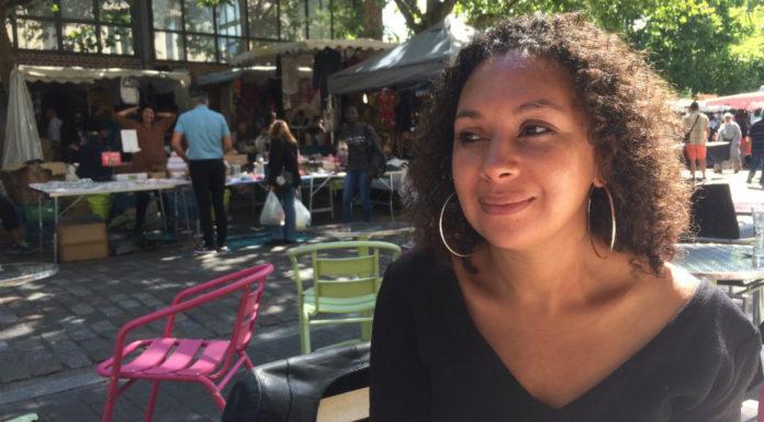 Samira El Ayachi, auteur lilloise de La vie rêvée de Mademoiselle S., initiatrice du festival L'Origine des mondes. Photo: Laurie Moniez