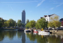 1024px-Nantes_-_Erdre- © Guillaume Piolle