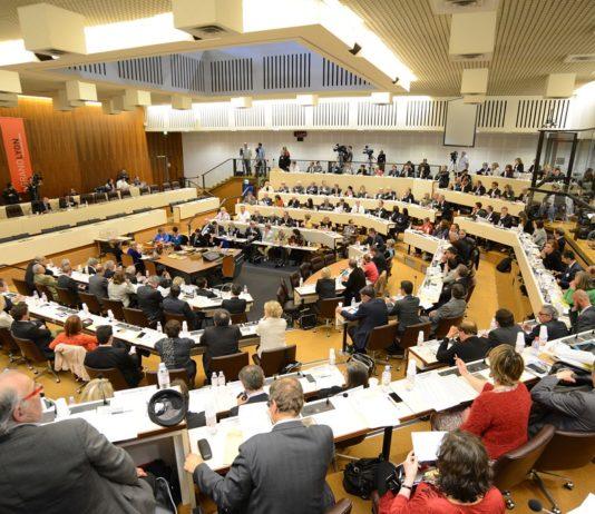 Lyon (69). SŽance d'Žlection du prŽsident du Grand Lyon (16/04/2014) | Lyon (69). Election of the President of Grand Lyon (04/16/2014) Session [AT]
