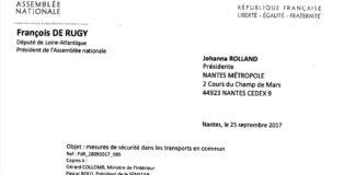 Extrait lettre FDR – JR