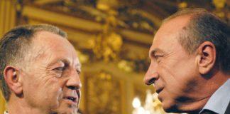 Lyon (69) : Jean Michel Aulas et GŽrard Collomb