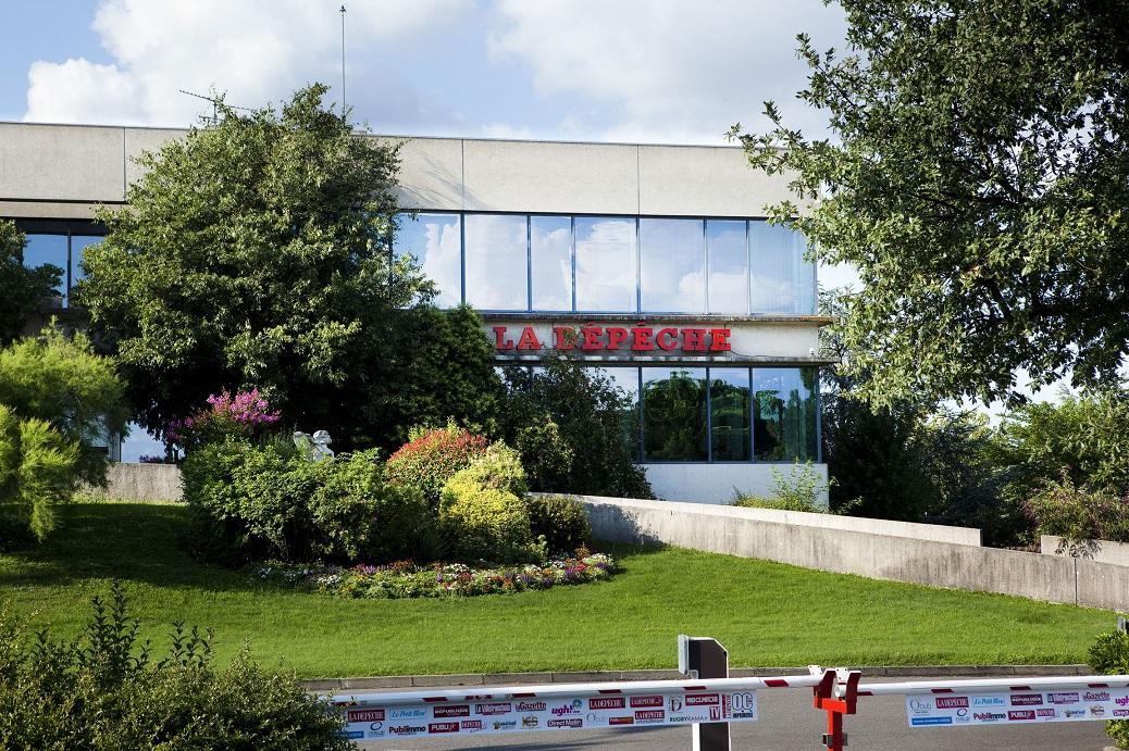 Toulouse (31) : le siège de la Dépêche du Midi | Toulouse (31): the headquarters of the Depeche du Midi [AT]