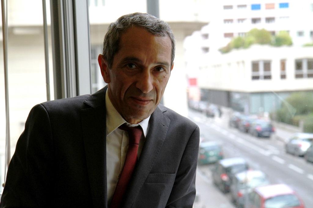 Farid Hamel, futur bâtonnier de Lyon. Photo : M.Hemmerich.