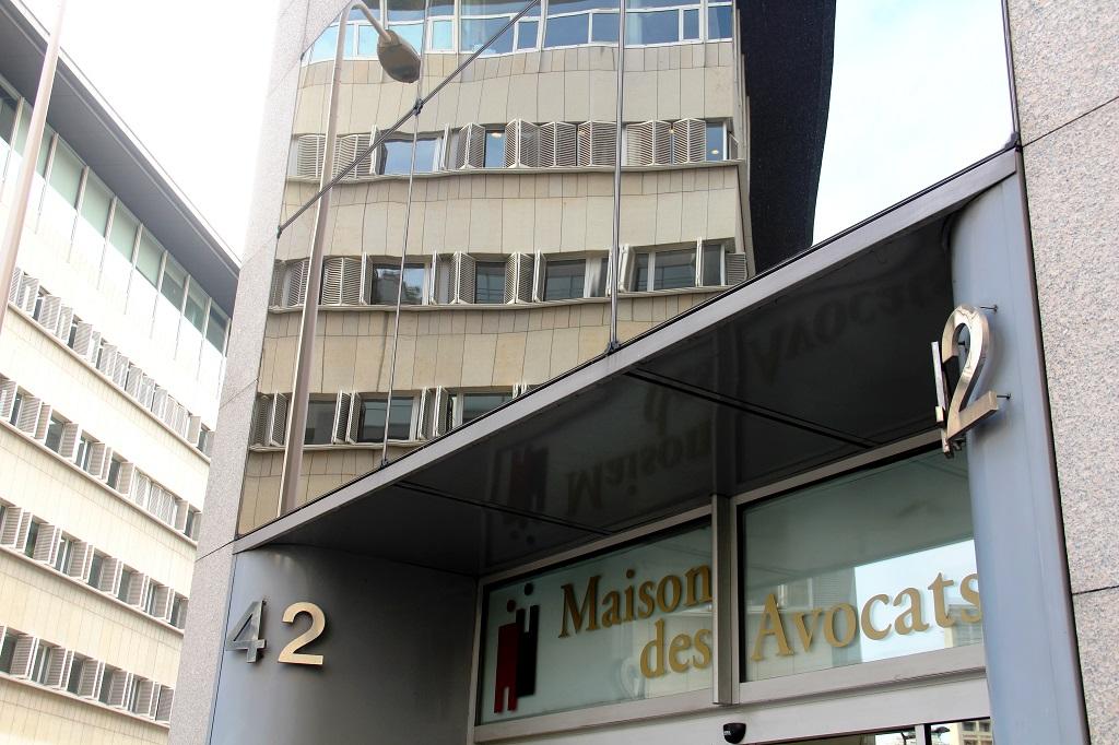 La maison des avocats, où se trouve l'Ordre, au dos du palais de justice de Lyon. Photo : N.Barriquand/Mediacités.