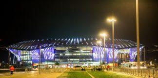 Fra Inauguration of the new stadium of Olympic Lyonnais.