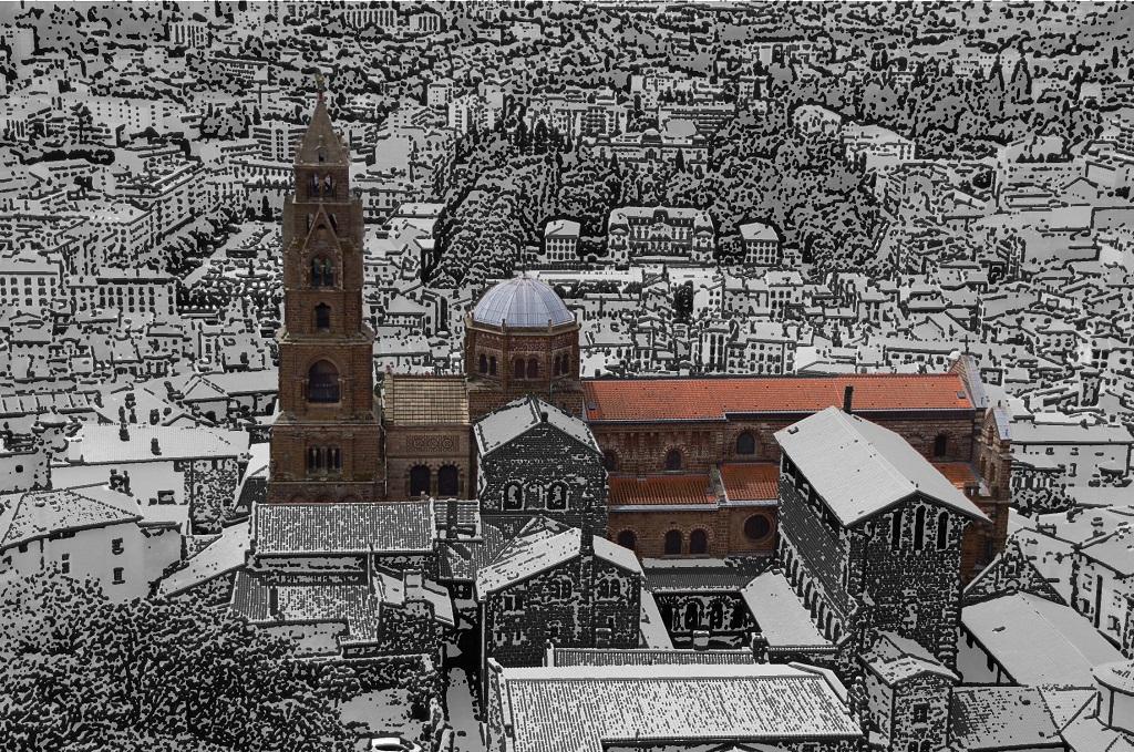 La cathédrale Notre-Dame-de-l'Annonciation. CC/N.Certes.
