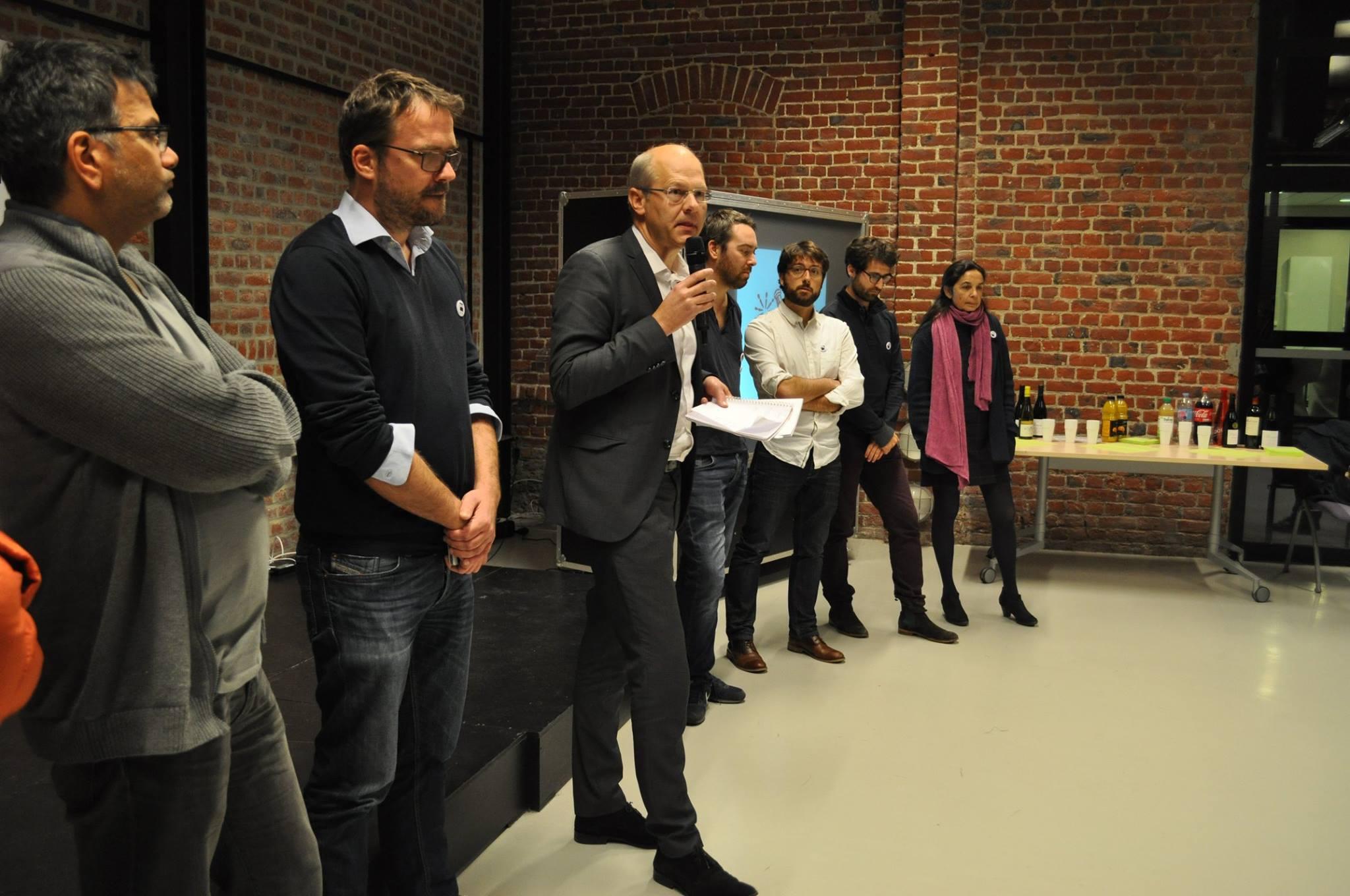 Soirée de lancement de Mediacités à Lille