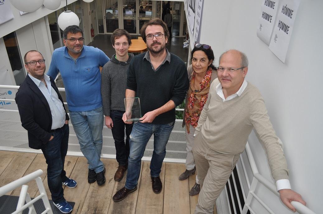 Mediacités remporte le prix de l'innovation numérique éditoriale.