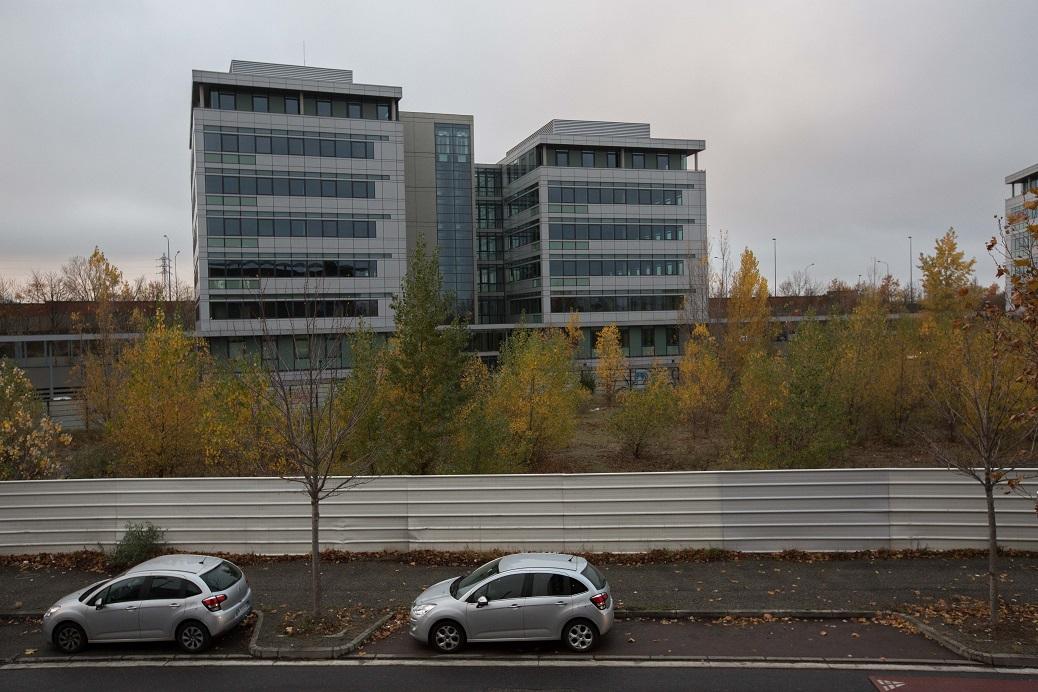 Les immeubles de bureaux vides bloquent l'évolution du quartier de Bordelongue (Jean-Christophe Magnenet).