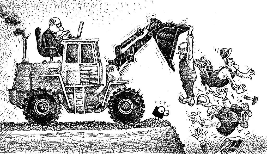 Le plan social sauvage d'un géant du BTP