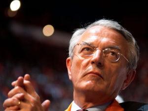 Au début des années 2000, Jean Arthuis (ici en 2007), alors président du conseil général de Mayenne, volait au secours de Lactalis
