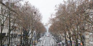 Cours Charlemagne vu de la Gare de Perrache. 01.2018