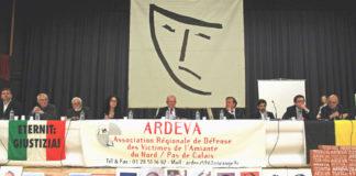 Assemblée générale 2015 de l'association régionale de défense des victimes de l'amiante du Nord (Ardeva). Photo: Ardeva