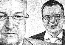 Damien Castelain et Bruno Cassette. Illustration Jean-Paul Van der Elst