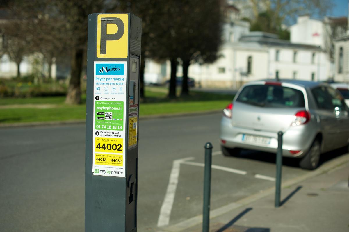 Parcmètre Nantes