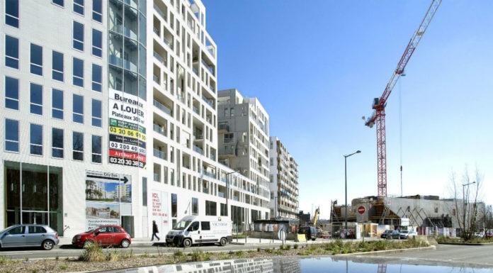 Immeubles de bureaux à louer à Lille, en 2014. Photo d'illustration : Andia