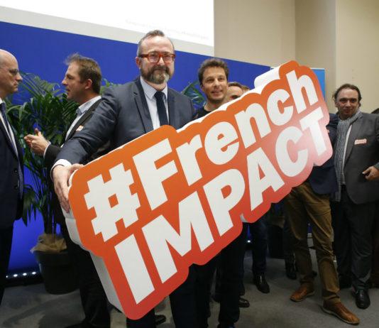 Christophe Itier, Haut-commissaire à l'Economie sociale et solidaire et à l'innovation sociale, présente l'accelerateur national d'innovation sociale, le 18 janvier 2018. Photo : IP3 PRESS/MAXPPP