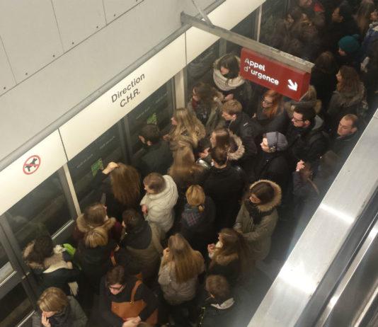 Quai de la station de métro Pont De Bois, à Lille. Photo d'illustration : Creative Commons / Supporterhéninois