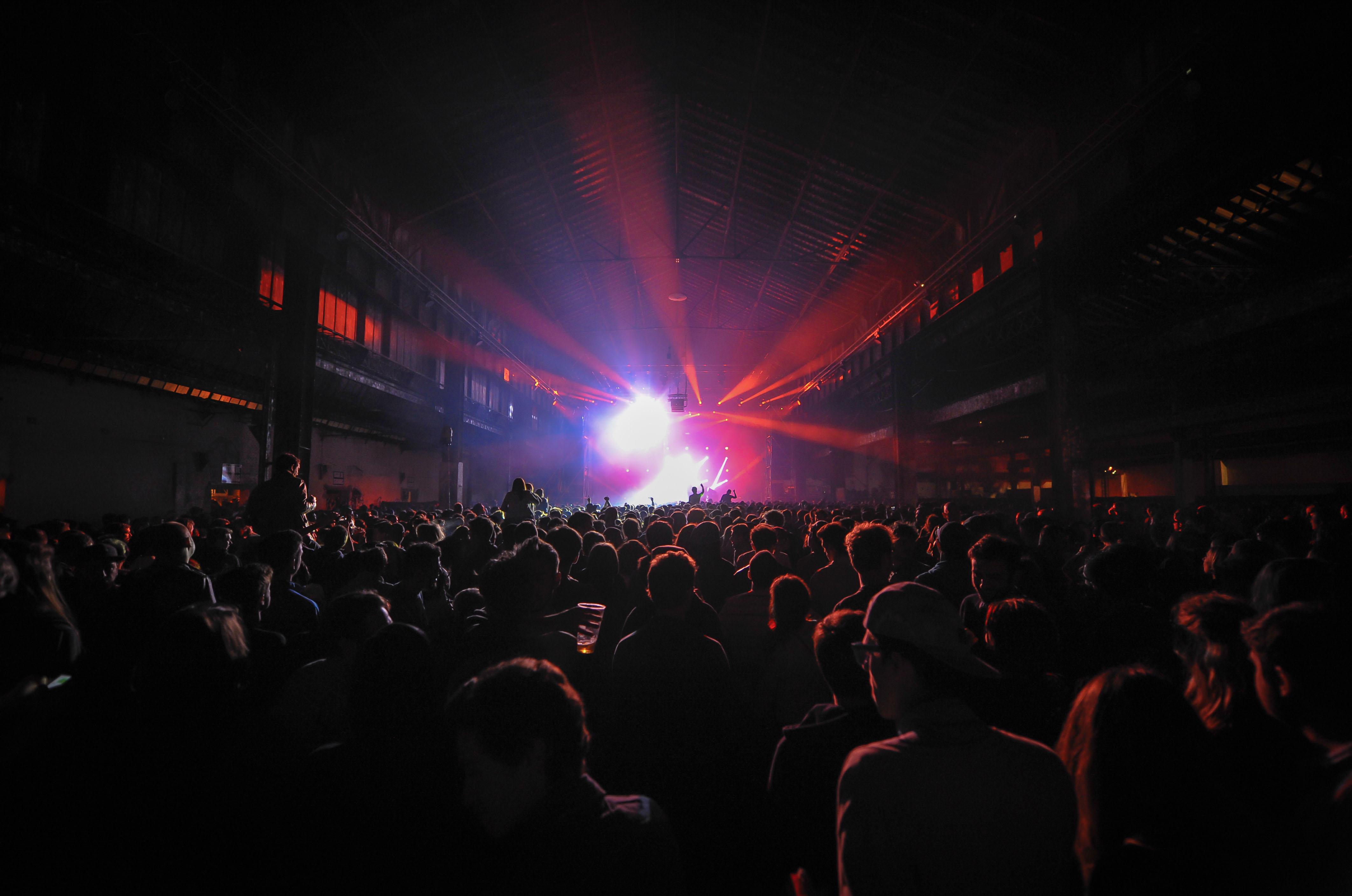 Festival des Nuits Sonores 2014 de Lyon (69).