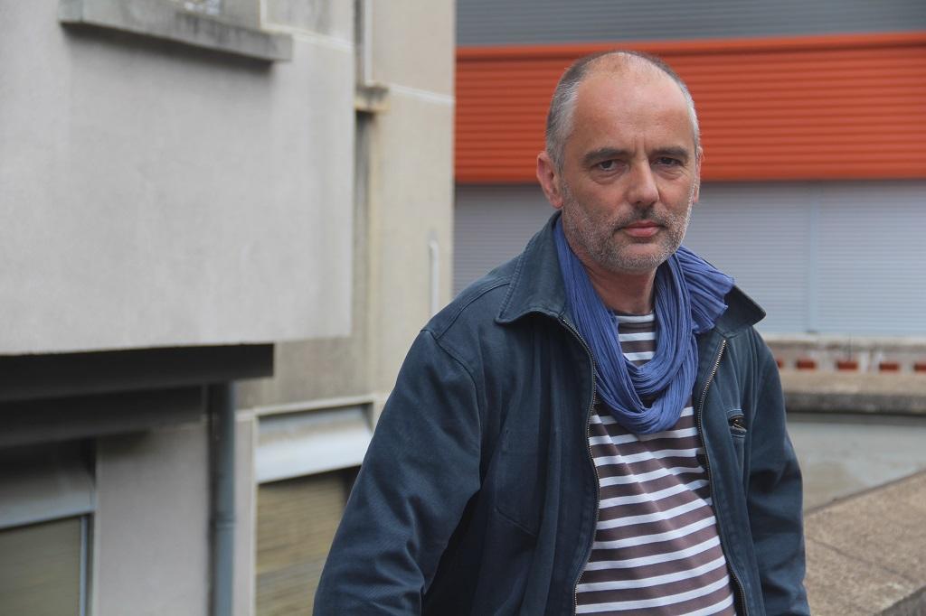 Pierre-Yves Guillier, représentant Sud-Solidaires. Photo : NB/Mediacités.