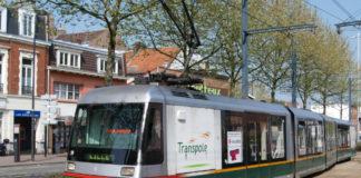Le tram Lille-Roubaix exploité par Transpole. Photo d'illustration : Creative Commons / AlfvanBeem