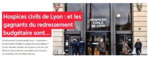 Enquete sur les hospices civils de Lyon