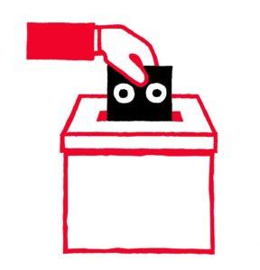 Bidule urne élections