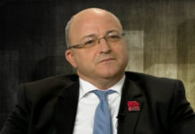Le président de la Métropole européenne de Lille, Damien Castelain. Capture d'écran : France 3