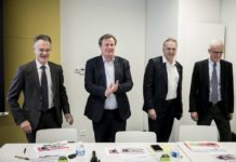 Presentation des resultats annuels du groupe Auchan
