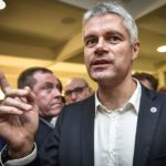 Laurent Wauquiez public meeting in Arcachon
