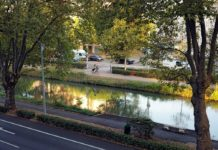 Toulouse (31) : le Canal du Midi