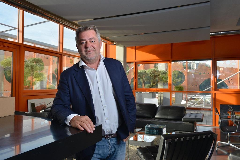Lyon (69). Jean Christophe Larose, fondateur du groupe immobilier Cardinal