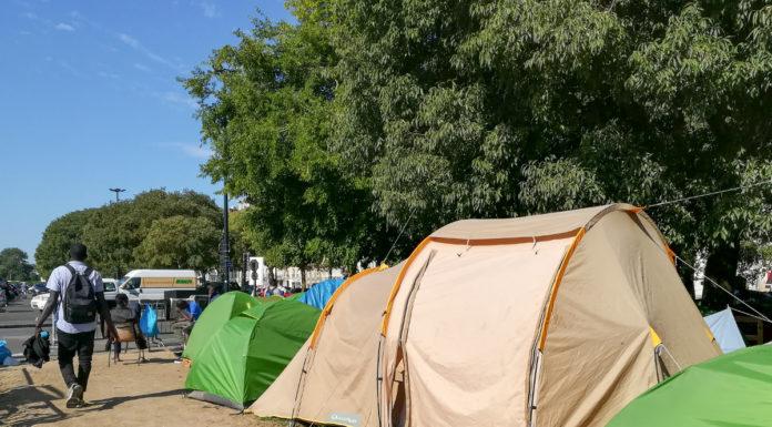 Migrants - square Daviais - Nantes (c) Mediacités