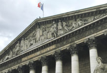 Fronton Assemblée Nationale