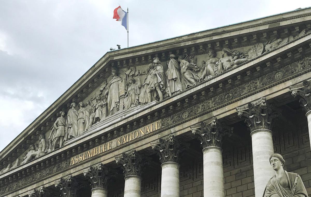 Fronton Assemblée Nationale