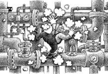 dessin toulouse fuite de gaz