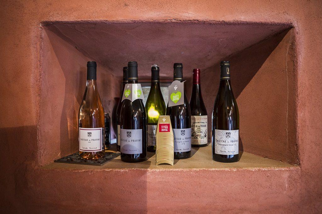 Production des des vins du château du Pravins. Blacè, France, 26.10.2018