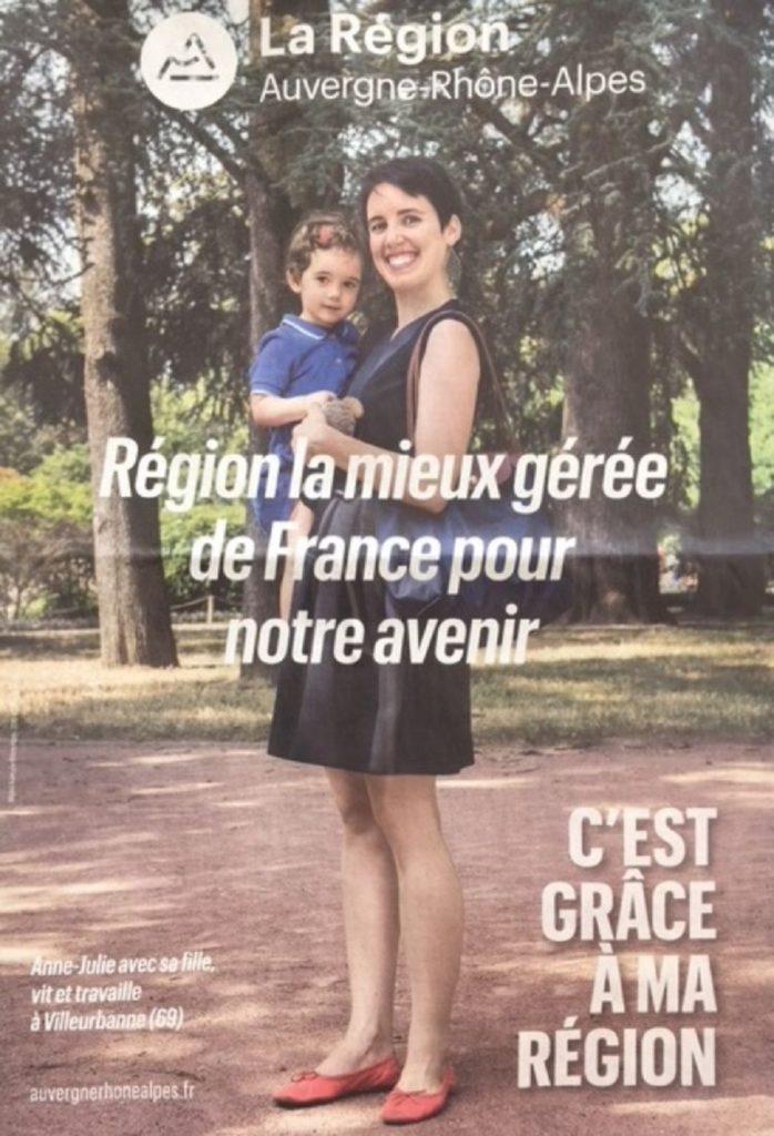 Affiche région mieux gérée de France