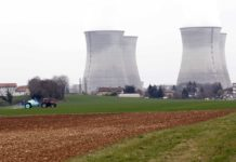 FRA: Demonstration at Bugey nuclear plant