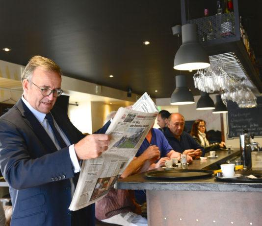 Etienne Blanc depute maire LR de Divonne-les-Bains (01) le 21/09/2015