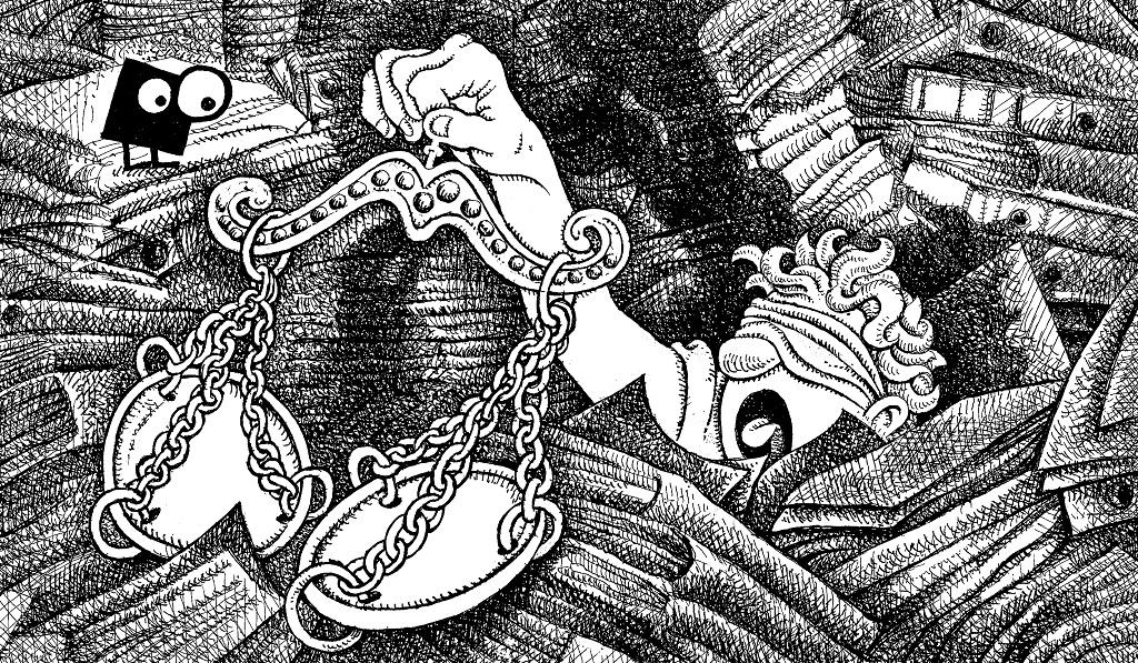 dessin justice Lyon